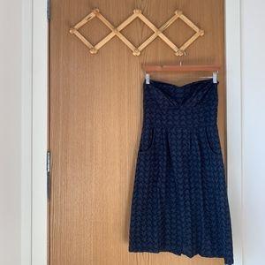 Girls from Savoy Eyelet Strapless Dress